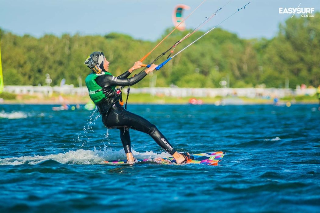Kitesurfing courses with radio - IKO Level II
