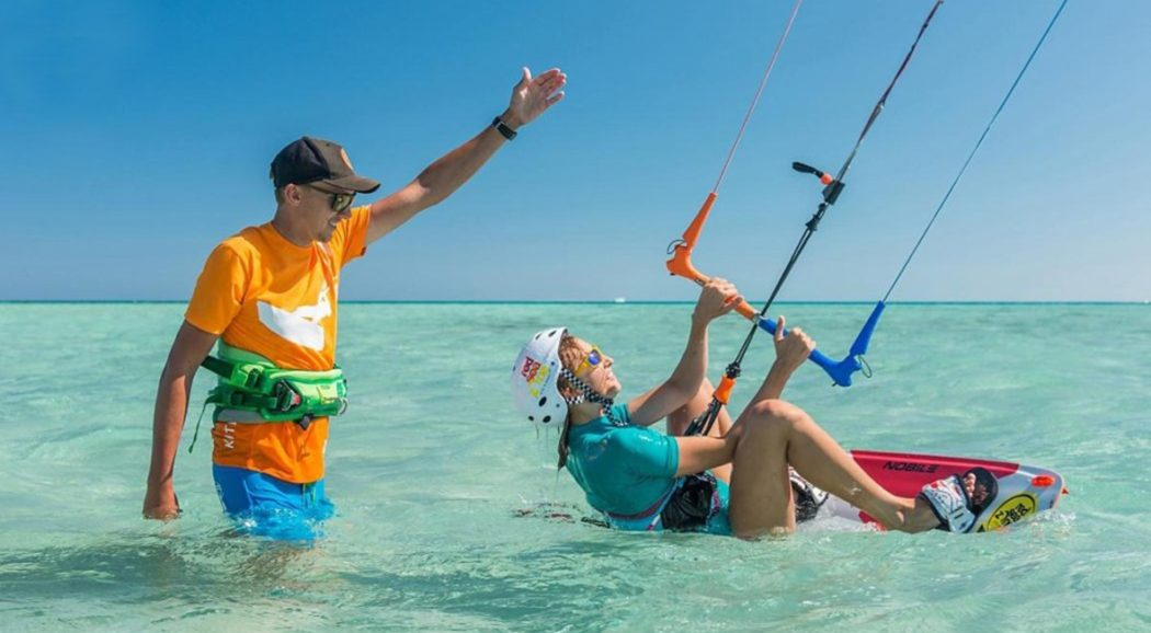 Tides and their importance for kitesurfers.